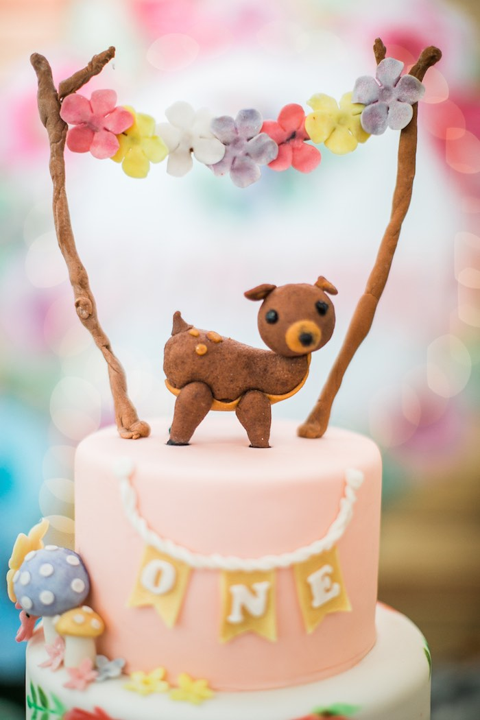 Springtime Forest + Jungle Animal Party on Kara's Party Ideas | KarasPartyIdeas.com (23)