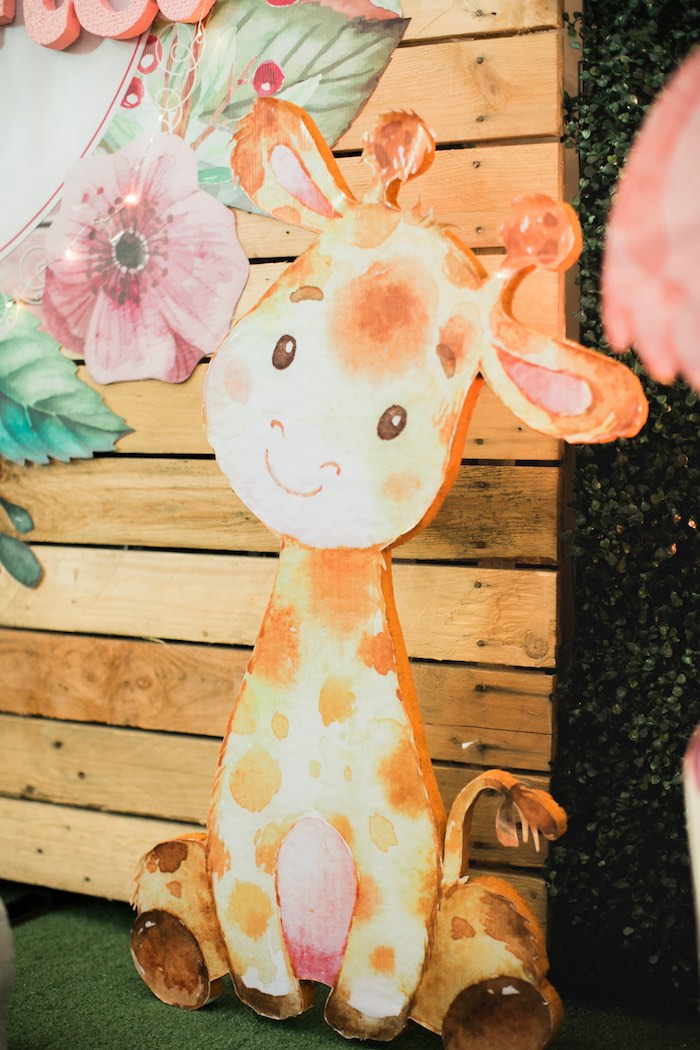 Springtime Forest + Jungle Animal Party on Kara's Party Ideas | KarasPartyIdeas.com (21)