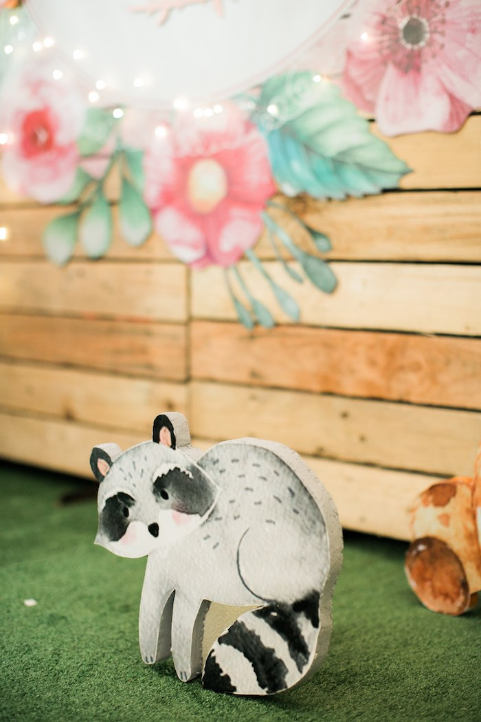 Springtime Forest + Jungle Animal Party on Kara's Party Ideas | KarasPartyIdeas.com (20)