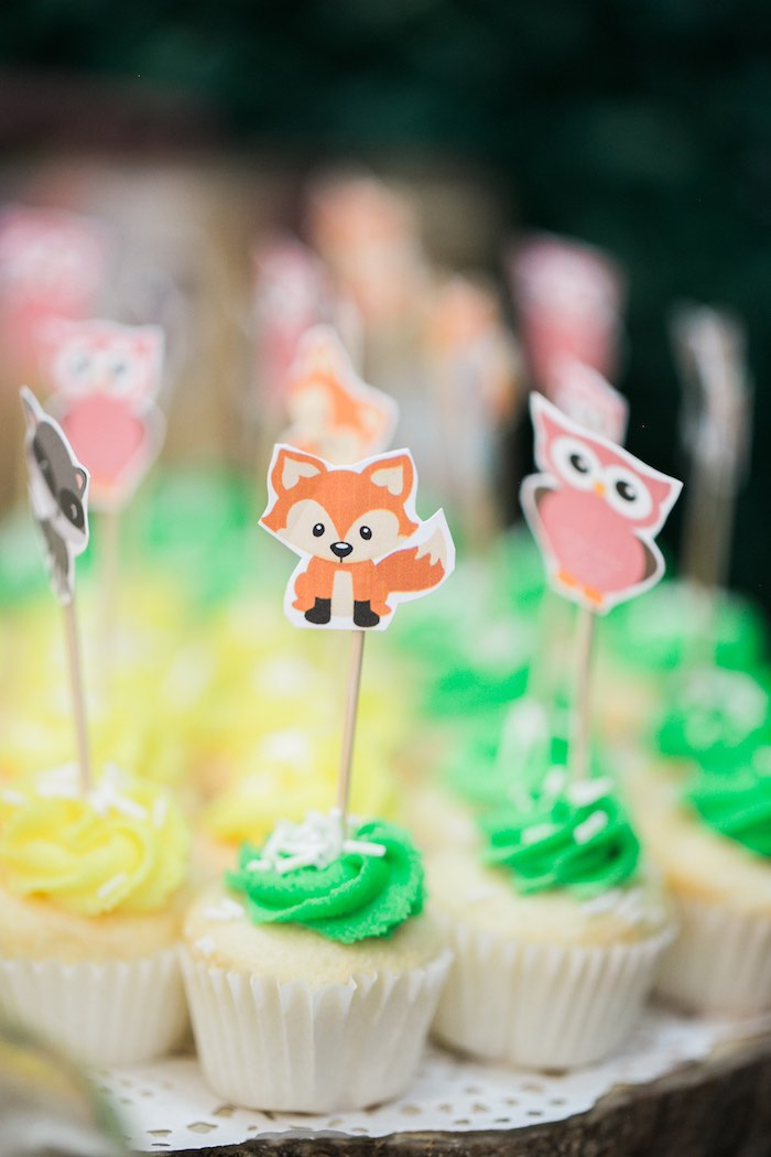 Springtime Forest + Jungle Animal Party on Kara's Party Ideas | KarasPartyIdeas.com (16)
