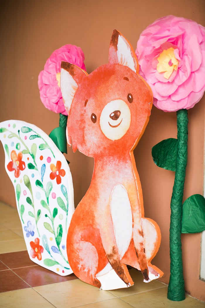 Springtime Forest + Jungle Animal Party on Kara's Party Ideas | KarasPartyIdeas.com (34)