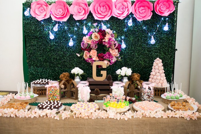 Springtime Forest + Jungle Animal Party on Kara's Party Ideas | KarasPartyIdeas.com (15)