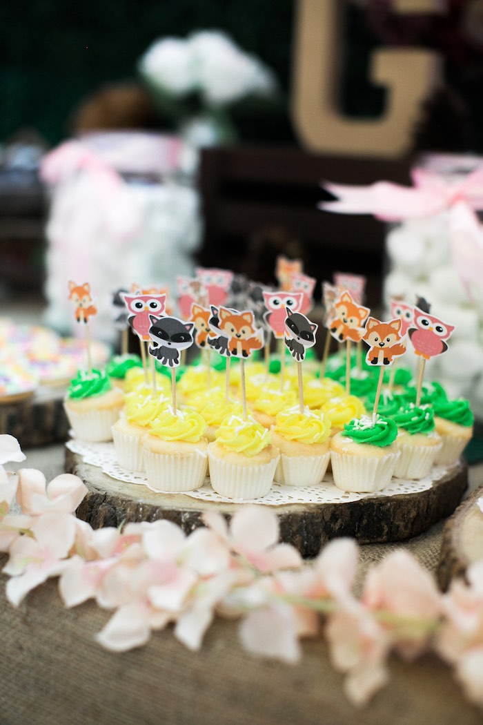 Springtime Forest + Jungle Animal Party on Kara's Party Ideas | KarasPartyIdeas.com (13)