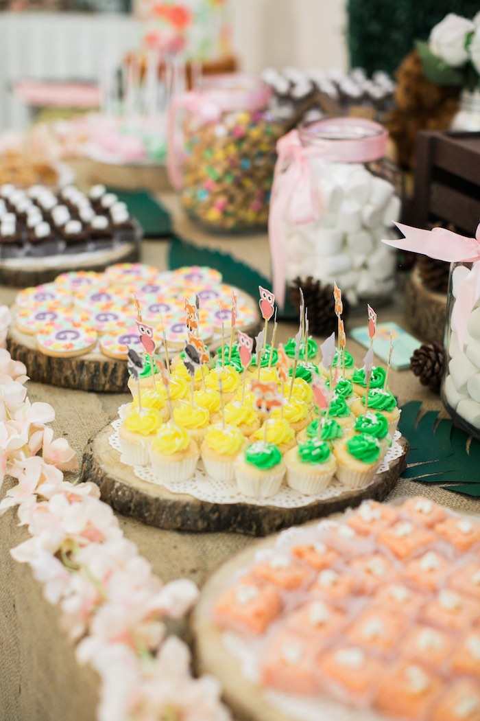 Springtime Forest + Jungle Animal Party on Kara's Party Ideas | KarasPartyIdeas.com (8)