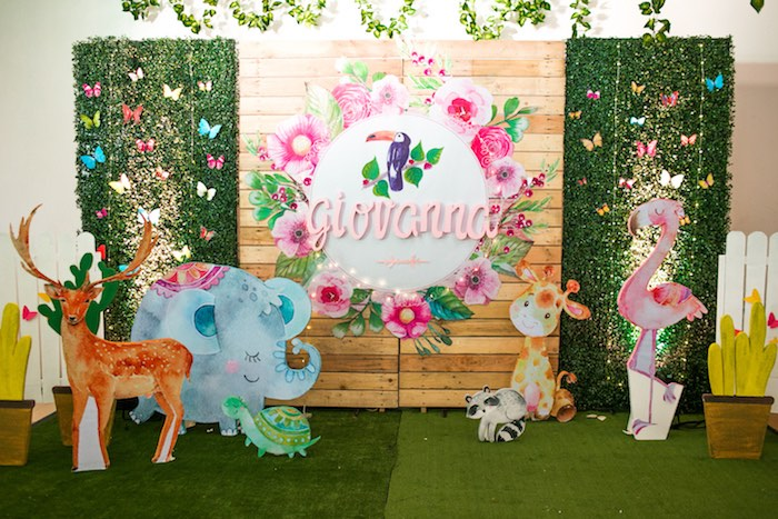 Springtime Forest + Jungle Animal Party on Kara's Party Ideas | KarasPartyIdeas.com (31)