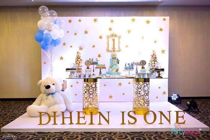 Teddy Bear + Hot Air Balloon Birthday Party on Kara's Party Ideas   KarasPartyIdeas.com (27)