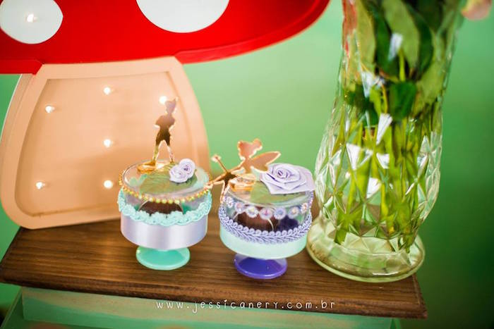 Tinkerbell Pedestal Cups from a Tinkerbell Birthday Party on Kara's Party Ideas | KarasPartyIdeas.com (34)