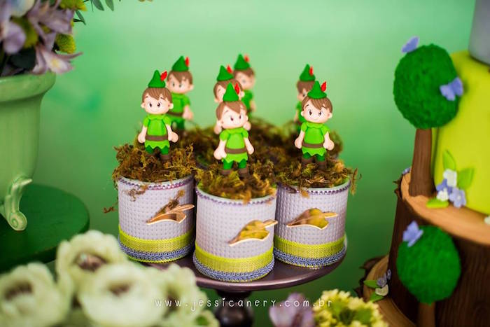 Peter Pan Favors from a Tinkerbell Birthday Party on Kara's Party Ideas | KarasPartyIdeas.com (30)