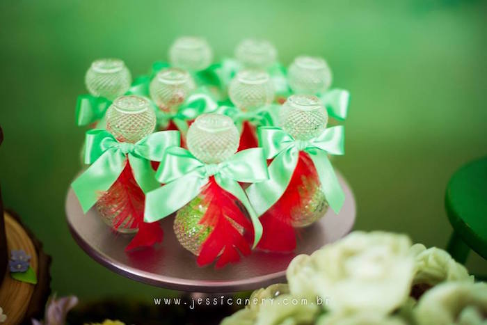 Favor Jars from a Tinkerbell Birthday Party on Kara's Party Ideas | KarasPartyIdeas.com (27)