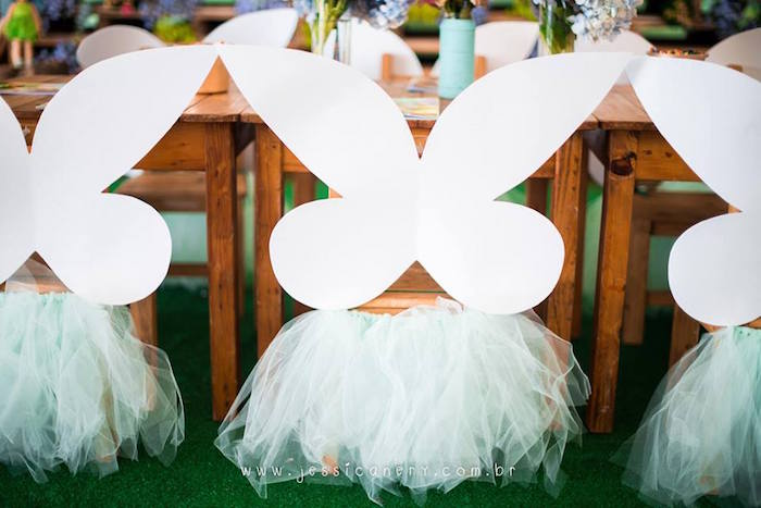 Winged Chair from a Tinkerbell Birthday Party on Kara's Party Ideas | KarasPartyIdeas.com (26)