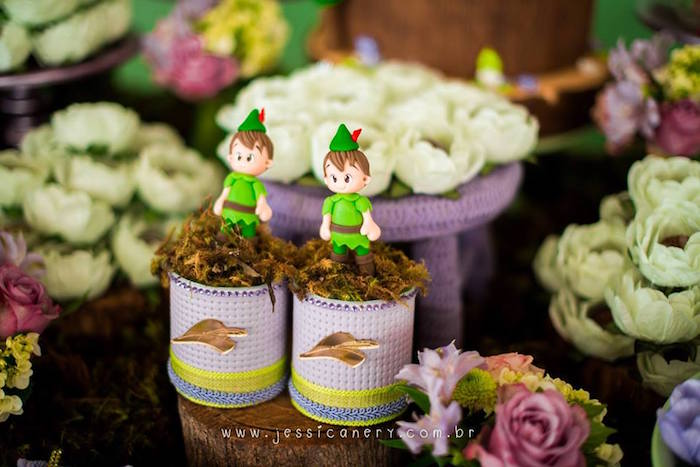 Peter Pan Favors from a Tinkerbell Birthday Party on Kara's Party Ideas | KarasPartyIdeas.com (44)