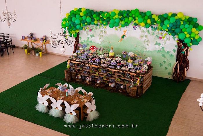 Tinkerbell Birthday Party on Kara's Party Ideas | KarasPartyIdeas.com (25)