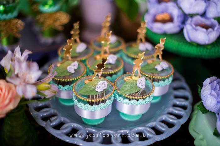 Tinkerbell Sweets/Favors from a Tinkerbell Favors from a Tinkerbell Birthday Party on Kara's Party Ideas | KarasPartyIdeas.com (24)
