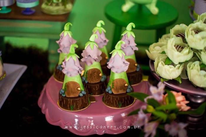 Tinker House Oreos from a Tinkerbell Birthday Party on Kara's Party Ideas | KarasPartyIdeas.com (18)