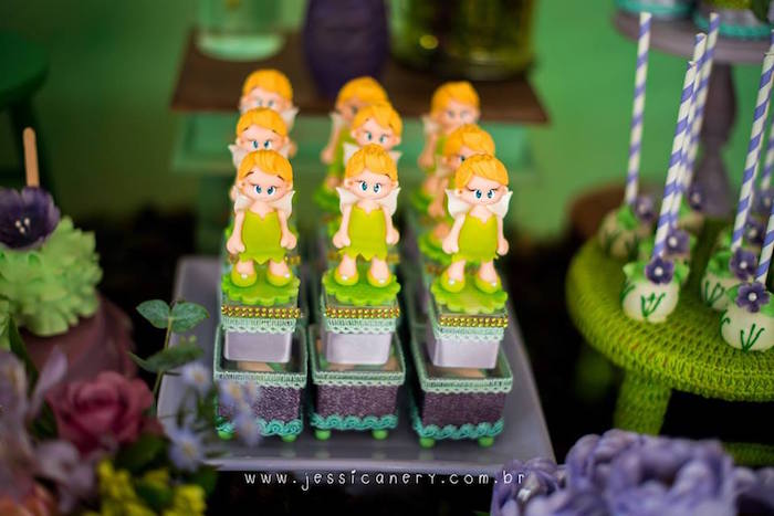 Tinkerbell Favor Boxes from a Tinkerbell Birthday Party on Kara's Party Ideas | KarasPartyIdeas.com (43)