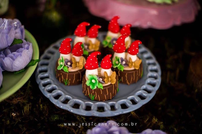 Toadstool Oreos from a Tinkerbell Birthday Party on Kara's Party Ideas | KarasPartyIdeas.com (15)