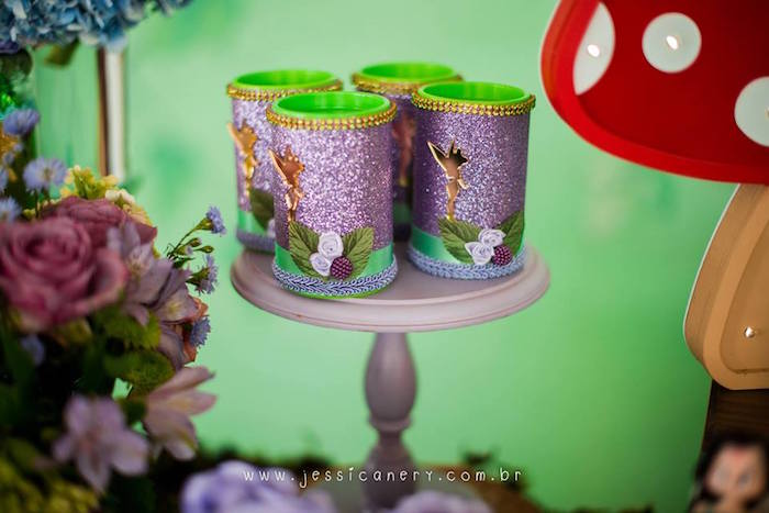 Tiinkerbell Favors from a Tinkerbell Birthday Party on Kara's Party Ideas | KarasPartyIdeas.com (12)