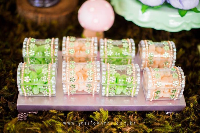 Sweets/Favors from a Tinkerbell Birthday Party on Kara's Party Ideas | KarasPartyIdeas.com (9)