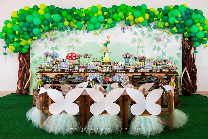 Kara's Party Ideas Tinkerbell Birthday Party | Kara's ...