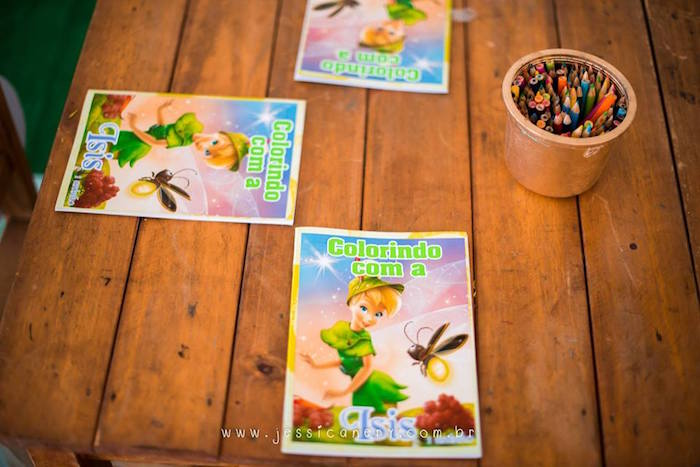 Tinkerbell Coloring Books from a Tinkerbell Birthday Party on Kara's Party Ideas | KarasPartyIdeas.com (37)