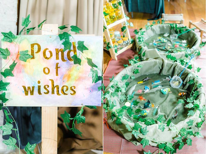 Pond of Wishes from a Trolls Happy Place Birthday Party on Kara's Party Ideas | KarasPartyIdeas.com (26)