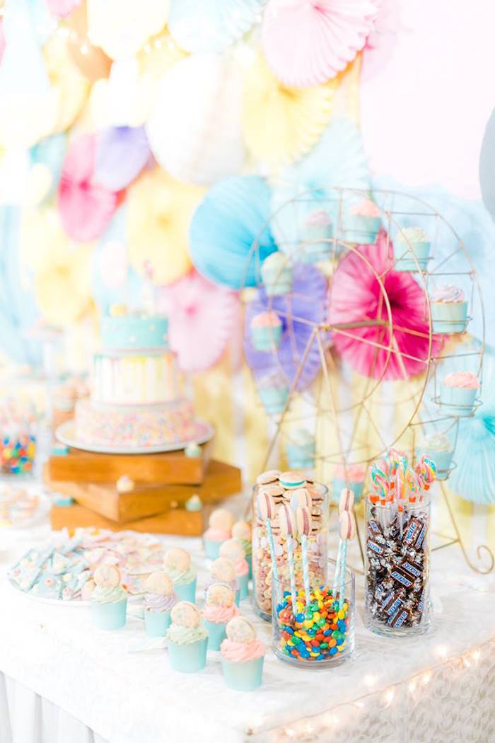 Sweet Table Detail from a Trolls Happy Place Birthday Party on Kara's Party Ideas | KarasPartyIdeas.com (21)