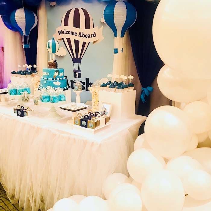 Up Up and Away Birthday Party on Kara's Party Ideas | KarasPartyIdeas.com (10)