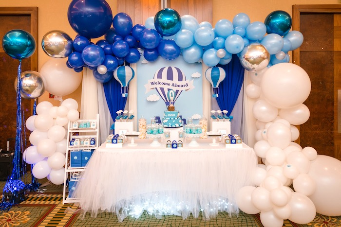 Up Up and Away Birthday Party on Kara's Party Ideas | KarasPartyIdeas.com (7)