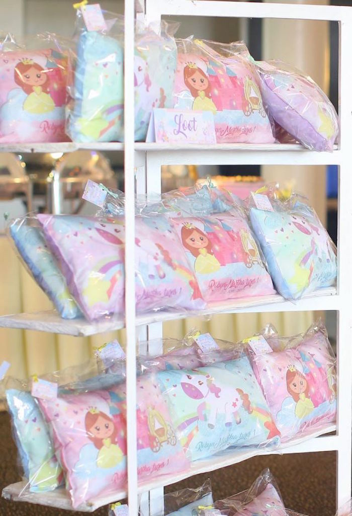 Giveaways from a Dreamy Princess Birthday Party on Kara's Party Ideas | KarasPartyIdeas.com