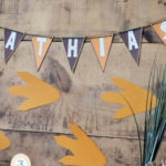 Rustic Dinosaur Birthday Party on Kara's Party Ideas | KarasPartyIdeas.com