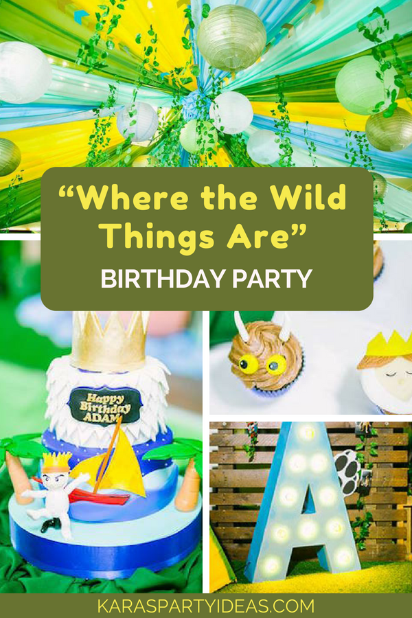 Kara S Party Ideas Quot Where The Wild Things Are Quot Birthday