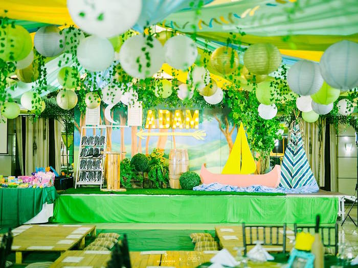 """Where the Wild Things Are"" Birthday Party on Kara's Party Ideas 