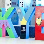 Avengers Superhero Birthday Party on Kara's Party Ideas | KarasPartyIdeas.com (4)