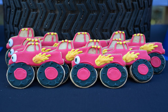 Blaze the Monster Truck Cookies from a Blaze and the Monster Machines Birthday Party on Kara's Party Ideas | KarasPartyIdeas.com (21)