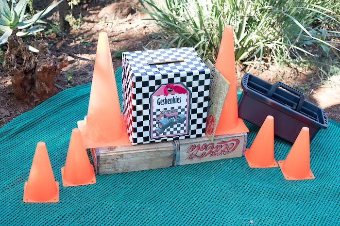Gift Pit Stop from a Blaze and the Monster Machines Birthday Party on Kara's Party Ideas | KarasPartyIdeas.com (23)