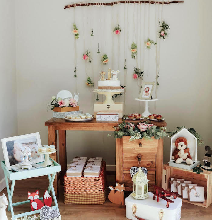 Boho Safari Baby Shower on Kara's Party Ideas | KarasPartyIdeas.com (5)