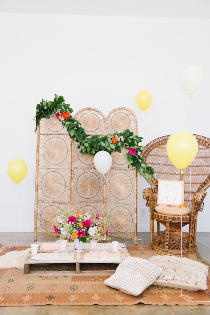 Boho Summer Daisy Party on Kara's Party Ideas | KarasPartyIdeas.com (8)