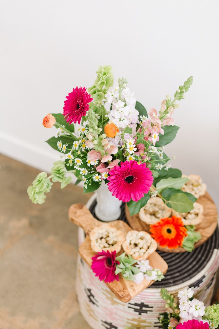 Blooms and Sweets from a Boho Summer Daisy Party on Kara's Party Ideas | KarasPartyIdeas.com (21)