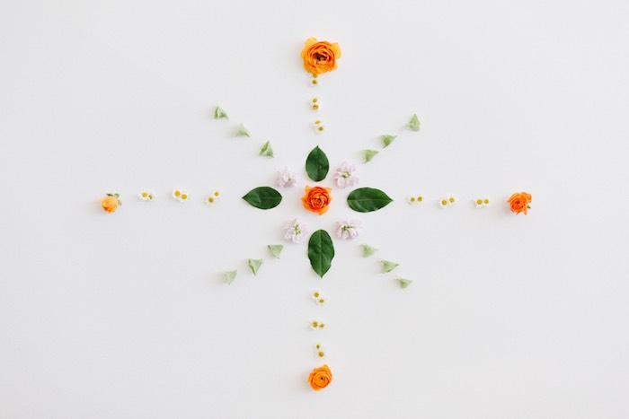 Flower Decoration + Backdrop from a Boho Summer Daisy Party on Kara's Party Ideas | KarasPartyIdeas.com (19)