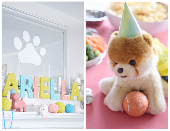 Bow, Wow, Meow Puppy and Kitten Paw-ty on Kara's Party Ideas | KarasPartyIdeas.com (15)