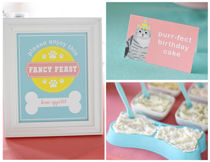 Bow, Wow, Meow Puppy and Kitten Paw-ty on Kara's Party Ideas | KarasPartyIdeas.com (14)