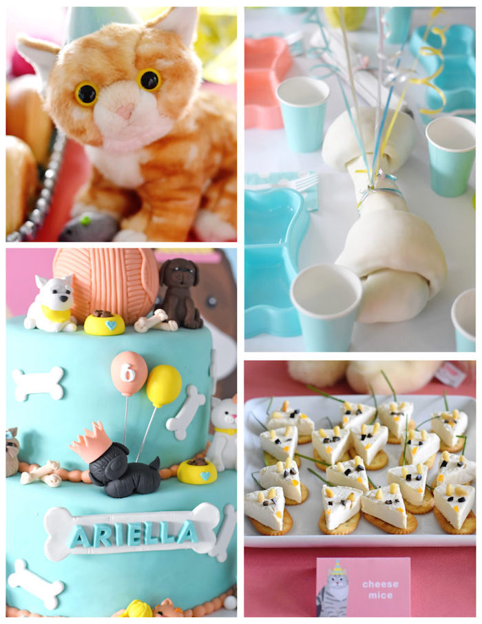 Bow, Wow, Meow Puppy and Kitten Paw-ty on Kara's Party Ideas | KarasPartyIdeas.com (12)