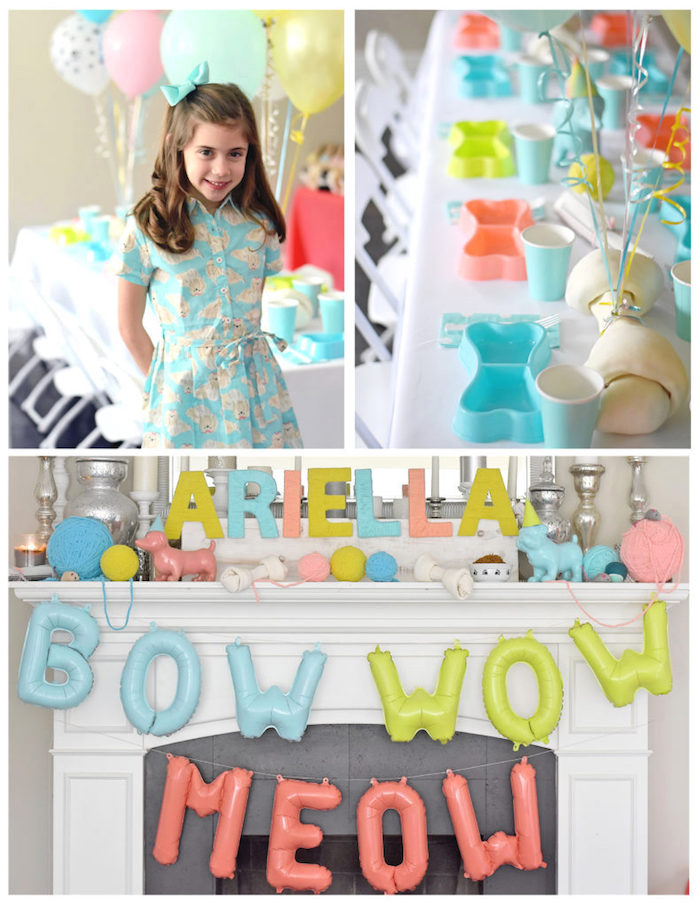 Bow, Wow, Meow Puppy and Kitten Paw-ty on Kara's Party Ideas | KarasPartyIdeas.com (11)