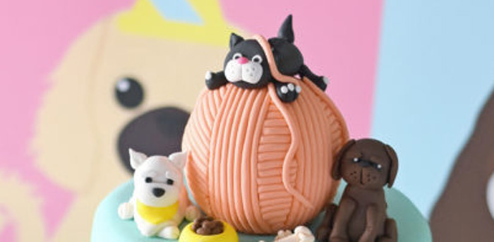 Bow, Wow, Meow Puppy and Kitten Paw-ty on Kara's Party Ideas | KarasPartyIdeas.com (1)