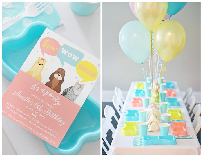 Bow, Wow, Meow Puppy and Kitten Paw-ty on Kara's Party Ideas | KarasPartyIdeas.com (26)