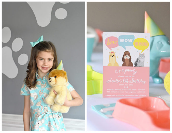 Bow, Wow, Meow Puppy and Kitten Paw-ty on Kara's Party Ideas | KarasPartyIdeas.com (22)