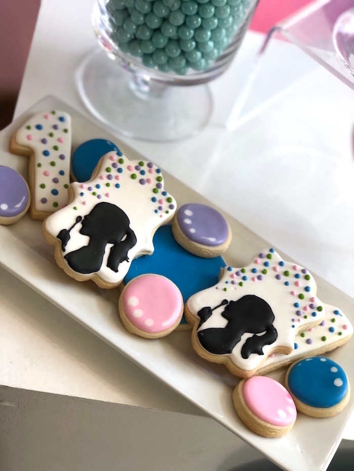 Bubble-inspired Cookies from a Bubbles Birthday Party on Kara's Party Ideas | KarasPartyIdeas.com (11)