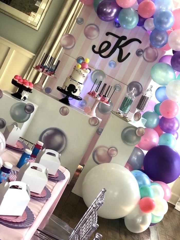 Bubbles Birthday Party on Kara's Party Ideas   KarasPartyIdeas.com (9)