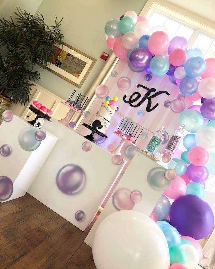 Bubbles Birthday Party on Kara's Party Ideas | KarasPartyIdeas.com (6)