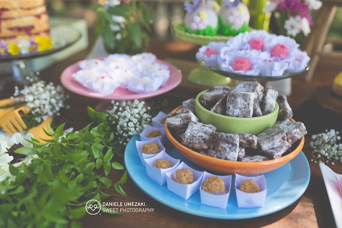 Sweets from a Butterfly Garden Birthday Party on Kara's Party Ideas | KarasPartyIdeas.com (16)